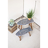 This item: Set of Two Wooden Fish Stools