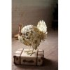 This item: Antique White Outdoor Painted Metal Turkey Statuary