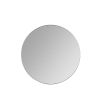This item: Franco Matte Black 34-Inch Round Wall Mirror