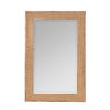 This item: Calico Natural Wood 36-Inch Woven Wall Mirror