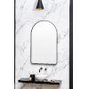 This item: Sebastian Black 38-Inch Arched Wall Mirror