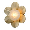 This item: Gigi Silver Leaf Accents 10-Inch LED Wall Sconce