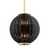 This item: Caba Caba Polished Brass 16-Inch Six-Light Pendant