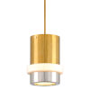 This item: Beckenham Vintage Polished Brass and Black 11-Inch One-Light Pendant