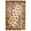 This item: Emerald Antique Beige Butterfly Garden Rectangle: 3 Ft. 6 In. x 5 Ft. 6 In. Rug