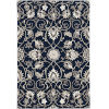 This item: Harbor Manor Navy Round: 7 Ft. 6 In. Area Rug