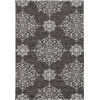 This item: Harbor Courtyard Charcoal Round: 7 Ft. 6 In. Area Rug