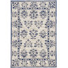This item: Harbor Haven Sand and Blue Round: 7 Ft. 6 In. Area Rug