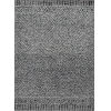 This item: Hudson Gray and Black Rectangular: 6 Ft. 6 In. x 9 Ft. 6 In. Rug