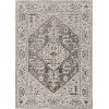 This item: Inspire Grey Parisian Rectangle: 7 Ft. 10 In. x 10 Ft. 10 In. Area Rug