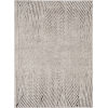 This item: Inspire Ivory Grey Parker Rectangle: 6 Ft. 7 In. x 9 Ft. 6 In. Area Rug