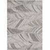 This item: Lucia Folia Gray Rectangular: 23 In. x 45 In.  Indoor/Outdoor Rug