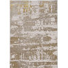 This item: Luna Escape Ivory and Gold Rectangular: 9 Ft. 10 In. x 13 Ft. 2 In. Area Rug