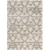 This item: Merino Southern Ivory and Gray Rectangular: 7 Ft. 10 In. x 9 Ft. 10 In. Area Rug