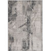 This item: Montreal Visions Gray Rectangular: 5 Ft. 3 In. x 7 Ft. 7 In. Area Rug