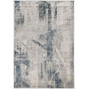 This item: Montreal Twilight Gray and Blue Rectangular: 5 Ft. 3 In. x 7 Ft. 7 In. Area Rug