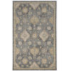 This item: Ria Sofia Slate Gray Rectangular: 3 Ft. 3 In. x 5 Ft. 3 In. Area Rug