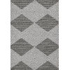 This item: Terrace Gray and Ivory Rectangular: 6 Ft. 7 In. x 9 Ft. 4 In. Rug