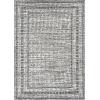 This item: Terrace Gray Rectangular: 5 Ft. x 7 Ft. 6 In. Rug