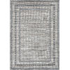 This item: Terrace Gray Rectangular: 9 Ft. 6 In. x 12 Ft. 8 In. Rug