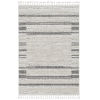 This item: Willow Ivory Gray Rectangular: 5 Ft. 3 In. x 7 Ft. 7 In. Rug