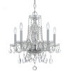 This item: Traditional Crystal Swarovski Strass Crystal Polished Chrome Four-Light Chandelier