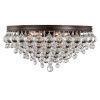 This item: Calypso Vibrant Bronze Six-Light Ceiling Mount