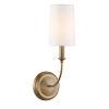 This item: Sylvan Vibrant Gold One-Light Sconce