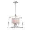 This item: Sylvan Polished Nickel Five-Light Pendant by Libby Langdon