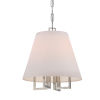 This item: Westwood Polished Nickel 13.5-Inch Four-Light Pendant by Libby Langdon