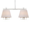 This item: Westwood Polished Nickel 42-Inch Eight-Light Pendant by Libby Langdon