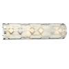 This item: Jennings Polished Nickel One Light LED Vanity