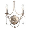 This item: Metro II Two-Light Antique Sliver Wall Sconce