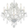 This item: Traditional Crystal Maria Theresa Chandelier with Majestic Wood Polished Crystal
