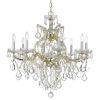 This item: Maria Theresa Gold Chandelier with Majestic Wood Polished Crystal