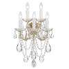 This item: Maria Theresa Sconce with Swarovski Spectra Crystal