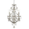 This item: Maria Theresa Polished Chrome Mini Chandelier with Swarovski Spectra Crystal