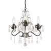 This item: Paris Market English Bronze 13-Inch Three-Light Chandelier