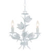 This item: Southport Wet White Three-Light Chandelier