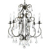This item: Ashton English Bronze Six-Light Chandelier with Hand Polished Crystal