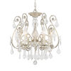 This item: Regis Olde Silver Six-Light Semi Flush Mount with Hand Polished Crystal
