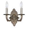 This item: Paris Flea Market Venetian Bronze Two-Light Wall Sconce