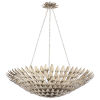 This item: Broche Antique Silver Eight-Light Large Chandelier