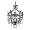 This item: Legacy English Bronze Five Light Mini-Chandelier with Clear Spectra Crystal