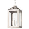 This item: Hurley Polished Nickel Four Light Fourteen Inch Chandelier