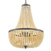 This item: Rylee Forged Bronze Six-Light Chandeliers