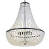 This item: Rylee Matte Black Eight-Light Chandelier