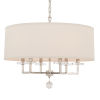 This item: Paxton Six-Light Polished Nickel Chandelier