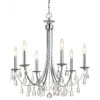 This item: Bridgehampton Polished Chrome 26-Inch Six-Light Chandelier