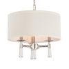 This item: Baxter Polished Nickel Three-Light Pendant